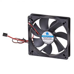 Ventilatore 120mm 3-pin nero AW-12B-BK